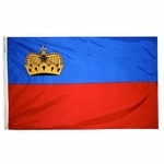 2' X 3' Nylon Liechtenstein Flag