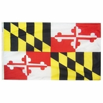 2' X 3' Nylon Maryland State Flag