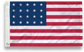 20 Star US Flags
