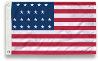 21 Star US Flags