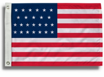 25 Star US Flags