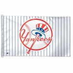 3' X 5' New York Yankees Pinstripe Flag
