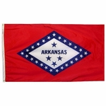 3' X 5' Nylon Arkansas State Flag