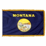3' X 5' Nylon Indoor/Parade Montana State Flag