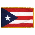 3' X 5' Nylon Indoor/Parade Puerto Rico Flag