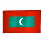 3' X 5' Nylon Maldives Flag