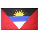 4' X 6' Nylon Antigua & Barbuda Flag