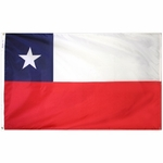 4' X 6' Nylon Chile Flag