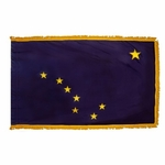 4' X 6' Nylon Indoor/Parade Alaska State Flag