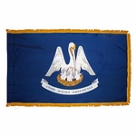 4' X 6' Nylon Indoor/Parade Louisiana State Flag