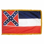 4' X 6' Nylon Indoor/Parade Mississippi State Flag