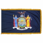 4' X 6' Nylon Indoor/Parade New York State Flag