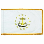 4' X 6' Nylon Indoor/Parade Rhode Island State Flag