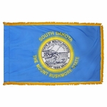 4' X 6' Nylon Indoor/Parade South Dakota State Flag