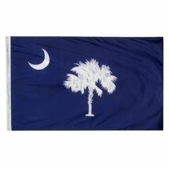 4' X 6' Nylon South Carolina State Flag