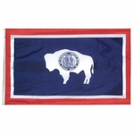 4' X 6' Nylon Wyoming State Flag