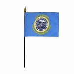 "4"" X 6"" South Dakota Stick Flags"