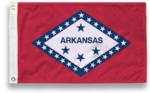 4' X 6' State-Tex Commercial Grade Arkansas State Flag