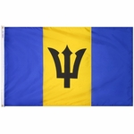 5' X 8' Nylon Barbados Flag