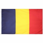 5' X 8' Nylon Chad Flag