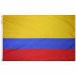 5' X 8' Nylon Colombia Flag