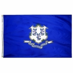 5' X 8' Nylon Connecticut State Flag