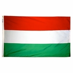 5' X 8' Nylon Hungary Flag