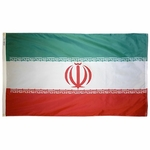 5' X 8' Nylon Iran Flag