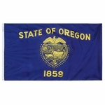 5' X 8' Nylon Oregon State Flag