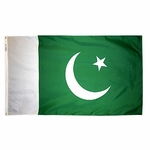 5' X 8' Nylon Pakistan Flag