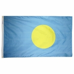 5' X 8' Nylon Palau Flag