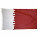 5' X 8' Nylon Qatar Flag