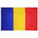5' X 8' Nylon Romania Flag