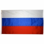 5' X 8' Nylon Russia Flag