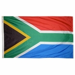 5' X 8' Nylon South Africa Flag