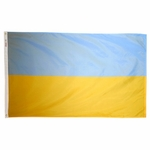 5' X 8' Nylon Ukraine Flag