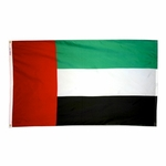 5' X 8' Nylon United Arab Emirates Flag