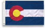 5' X 8' State-Tex Commercial Grade Colorado State Flag