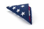 5' X 9 1/2' Americana Cotton U.S. Casket Flag
