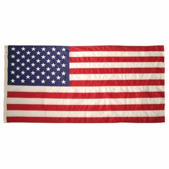 "8' 11 3/8"" X 17' Nylon G-Spec U.S. Flag"