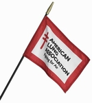 "8"" X 12"" Custom Stick Flags"