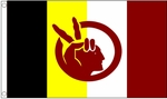 American Indian Movement AIM Flag