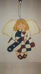 Americana Angel Ornament