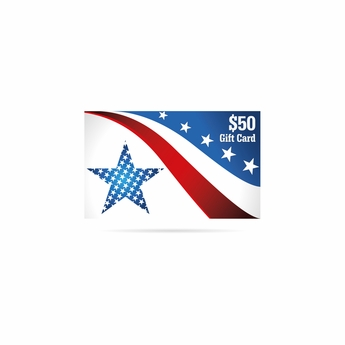 AmericanFlags.com Gift Card $50
