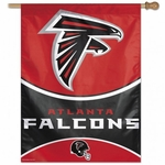 Atlanta Falcons Vertical Flag