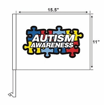 Autism Awareness Car Flag
