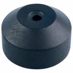 """Black Wood Table Bases for 8"""" X 12"""" Mounted Flags"""