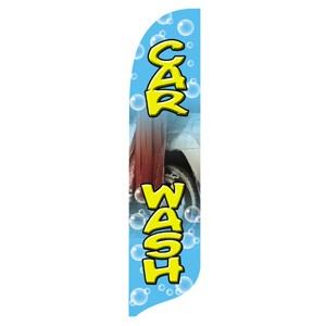 Car Wash Blade Flag