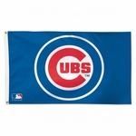 Deluxe 3' X 5' Chicago Cubs Flag