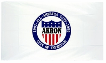 City Of Akron Flags